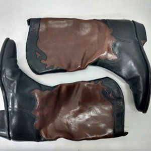 Vintage Joan and David Womens 7 Leather Boot